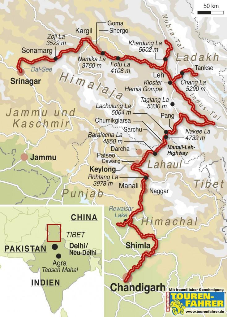 TOURENFAHRER-Indien-Himalaya